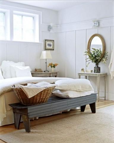 北欧寝室 ベンチ